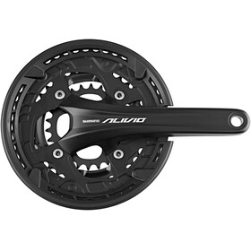 Shimano Alivio FC-T4060 - Manivelle - 48/36/26 9 vitesses noir